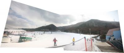 今シーズン最初で最後?!のスキー=カムイみさかスキー場=