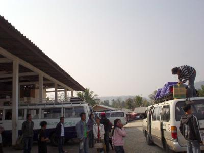 北ラオス6: 「ローカルバス移動」 ウドムサイ⇒ルアンパバン