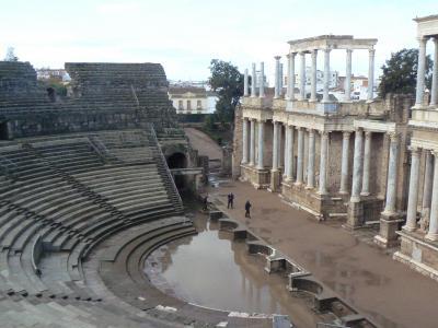~銀の道の「小ローマ」メリダ 2☆世界遺産のローマ遺跡を堪能~ 08新春スペイン旅行 7