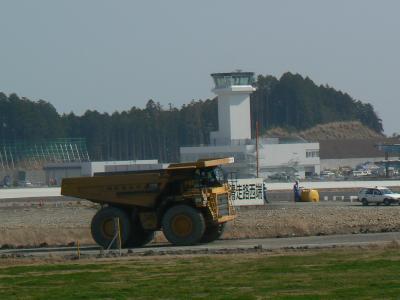 巨額の税金がかかってる富士山静岡空港が建設中