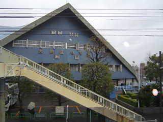 大田区体育館一時閉鎖