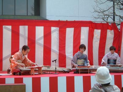 赤塚の梅祭り