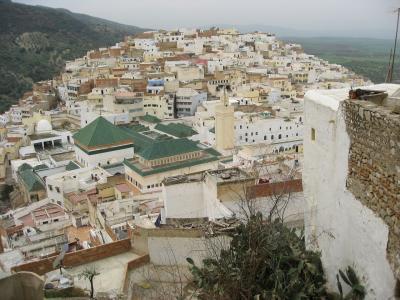 聖者の町ムーレイ・イドリス