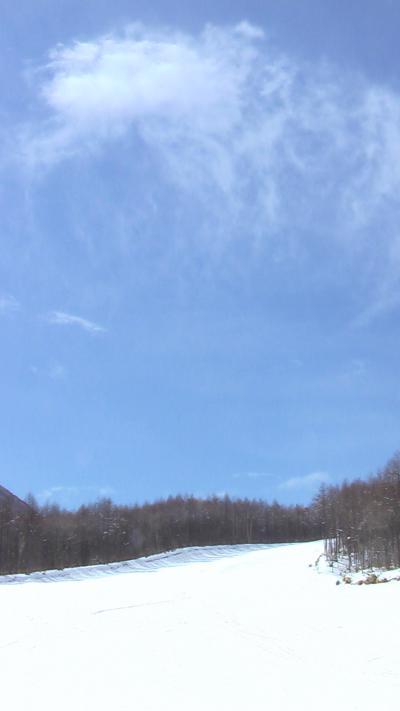 春スキーを家族で楽しみました