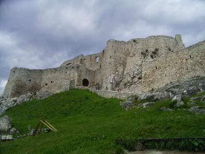 SLOVAKIA 東部辺境 LEVOCA 旧市街 と SPIS 城
