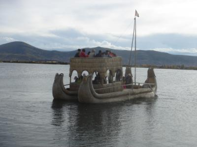 ペルー世界遺産紀行 チチカカ湖