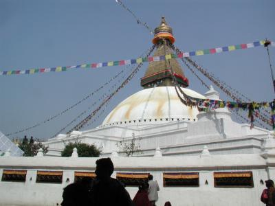 憧れのネパールヒマラヤトレッキング・・・?ボダナートを訪れる