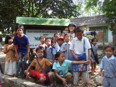 スンギギの小学校   ロンボク島