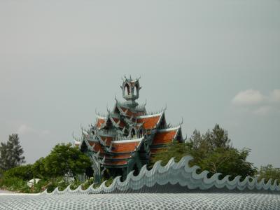 タイ#5<8 サムットプラカーン:ムアンボランのミニチュア建造物>