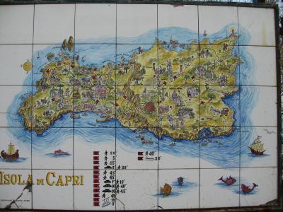 ヨーロッパ旅行 NO7 カプリ島