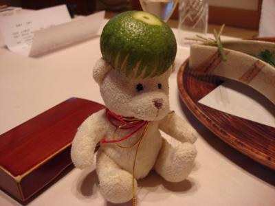 ? 広島旅行2日目 「石亭」 夕食