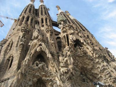 バルセロナ旅行1