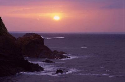 大王崎の夕日