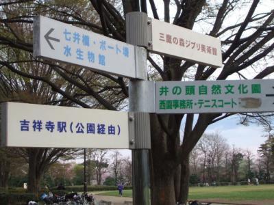 吉祥寺界隈(2008.3.26~3.30)
