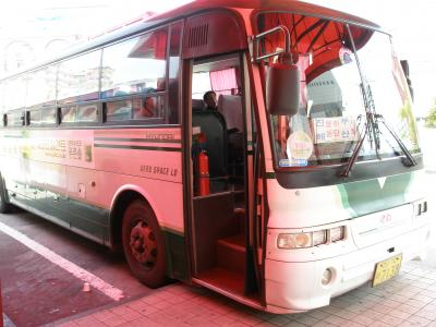 釜山-鎮海 市外バスの車窓