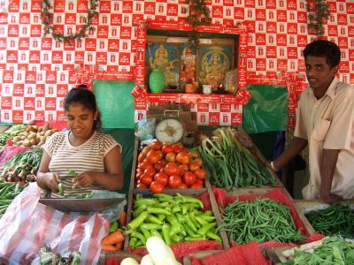 スリランカ人の友達とコロンボ観光
