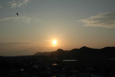 千葉県白浜の夕暮れ