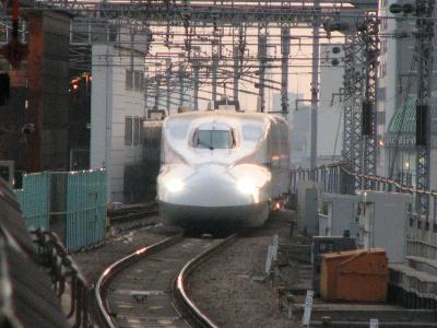 新大阪駅にて・・・のぞみ号を撮影