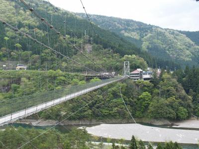 秘境・十津川村の旅? 十津川温泉郷と谷瀬の吊橋
