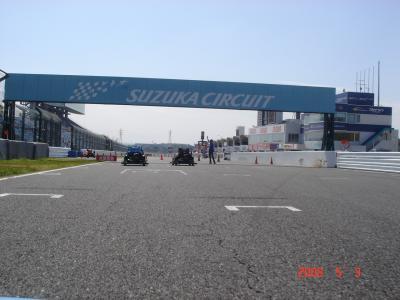 レーシングカート体験 IN 鈴鹿サーキット