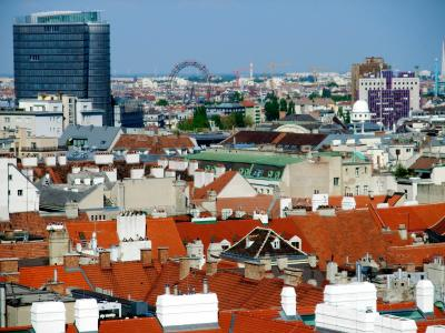 ブダペスト&ウィーン 2008春 シュテファン寺院~念願の北塔から市街を一望~