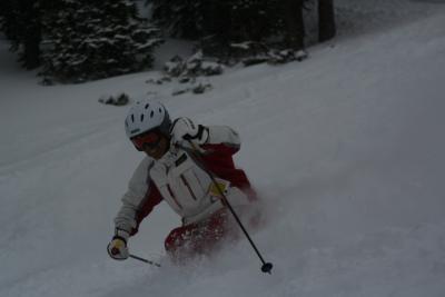 恒例(高齢)カナダスキーその2 「滑走編」