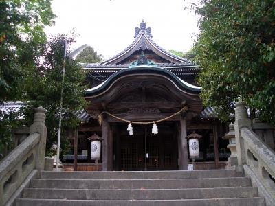 坂越浦鎮座 大避神社で大漁祈願