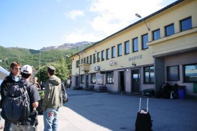 ?ヶ国目 ノルウェー(1)ナルヴィークで乗り継ぎ。