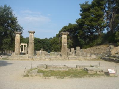 ギリシャ周遊 オリンピア