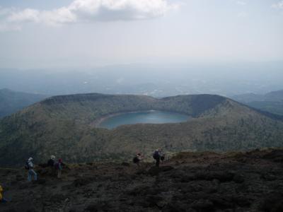 九州旅行2008(1)~韓国岳登頂