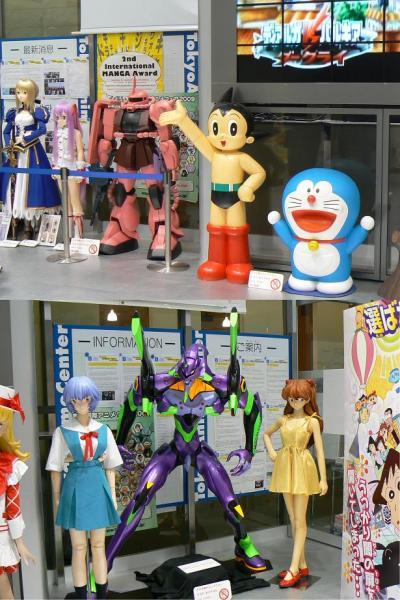 秋葉原の東京アニメセンターへ訪問(5月の平日休みに東京、千葉へ?)