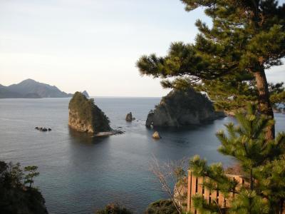海がきれーい  堂が島温泉