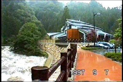 豪雨の小瀬川ロードN186!