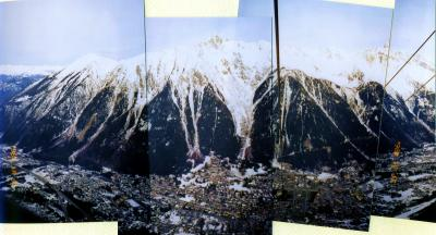 フランス / シャモニー フランスアルプス モンブランの麓 シャモニーでスノボ!