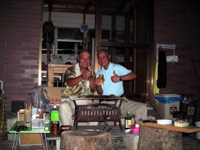 28京丹波町秘密基地 4tra お友達 来訪