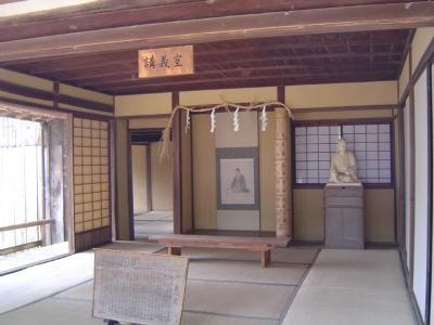 萩市観光 松蔭神社 吉田松陰を祀った神社