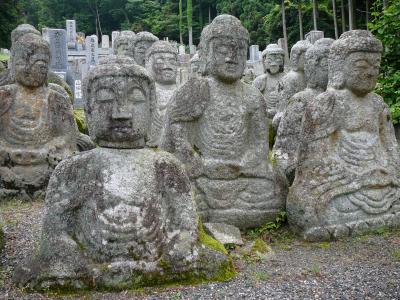 古代近江王朝ロマンの旅:鵜川四十八体石仏群