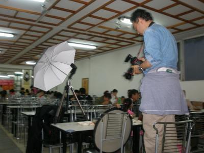 地球歩き隊 3 延吉市内で食事会