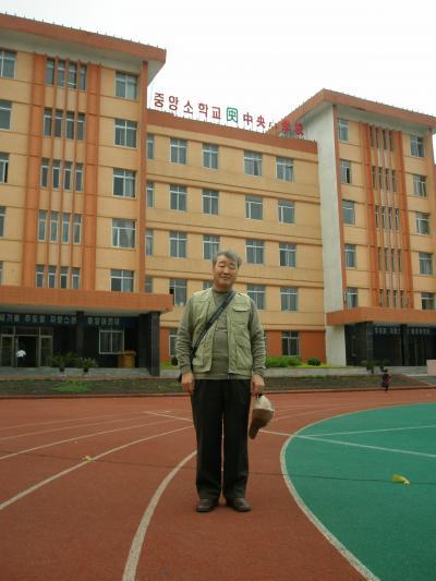 西田一家と仲良し3人組 延辺を行く 1 延吉市内の母校へ