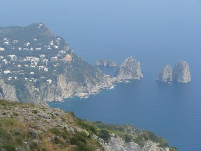 イタリアの旅、三日目 カプリ島