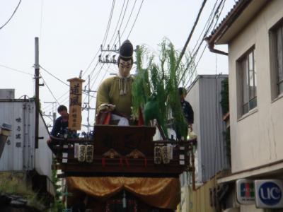 2008全国山・鉾・屋台保存連合会総会 佐原大会山車曳き廻し