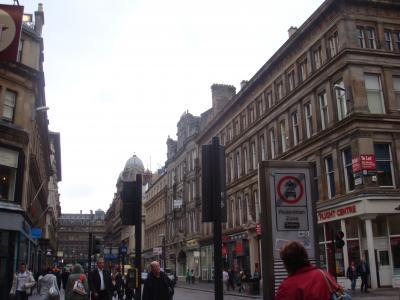 歴史あるショッピングの街