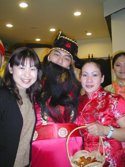2005早春、中国旅行記6(14):2月10日(6)上海・朱家角、アジアンスタイルのお店でディナー