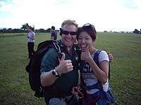 日本語インストラクターと飛ぶ! 半日スカイダイビング