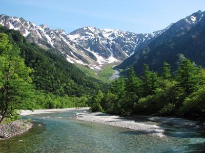 初夏の信州(2) 上高地:大正池へのガイドウォーク ~2008年6月~