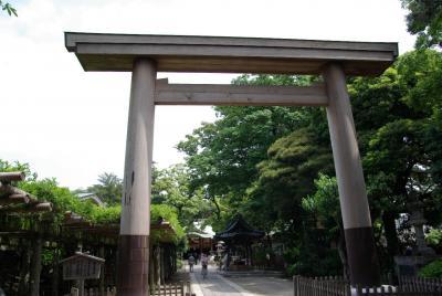 久伊豆神社へお参り