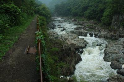 雨上がりの散策。福知山旧線、廃線ウオーキング!(後半 武庫川第2橋梁~生瀬)