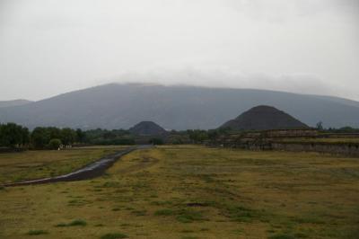 メキシコのピラミッド テイオテイワカン遺跡を訪ねて
