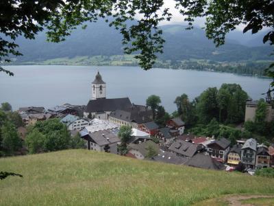 オーストリア&ドイツアルプスのんびり旅 【4】ザンクトヴォルフガング