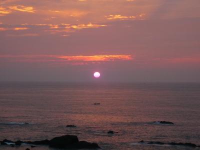 2008年7月 思いつき旅・太平洋で朝日を見る!!